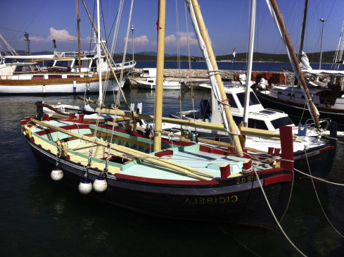 Gajeta Cicibela- built 1938. Typical Heritage vessel common to the central ...